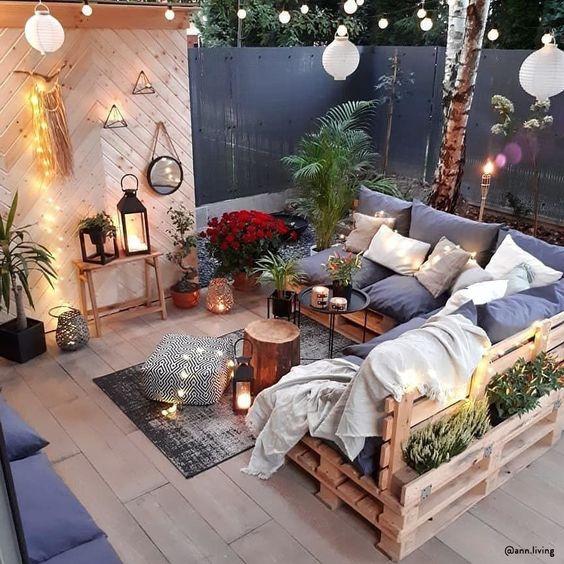 Pomysły na meble ogrodowe DIY