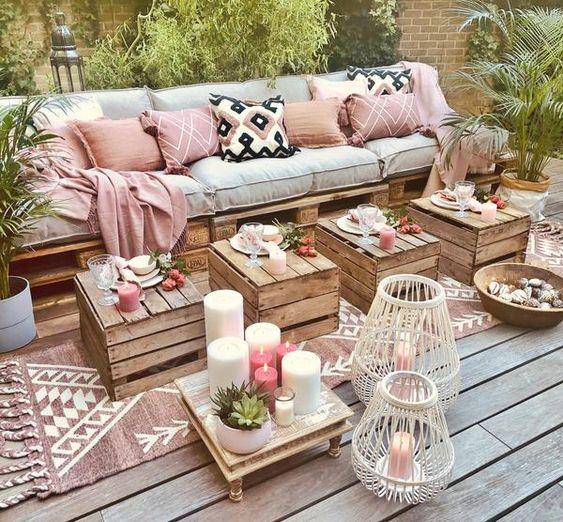 Własnoręcznie wykonane meble do ogrodu