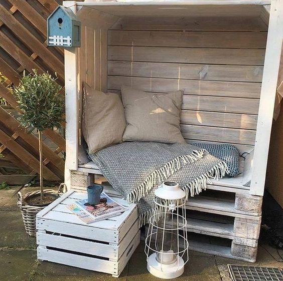 Własnoręcznie wykonane meble ogrodowe